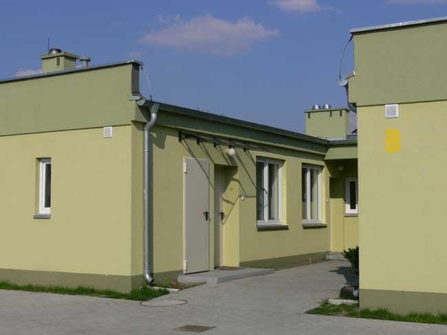 Zdjęcie budynku na ul. Zielonej