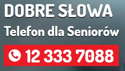 Dobre Słowa – telefon dla seniorów - numer 12 333 70 88